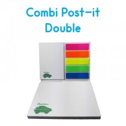 Combi Post-it Double Personnalisé